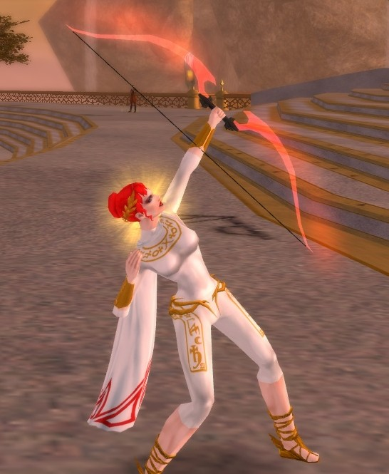 My character, Artemis the Archer on City of Heroes