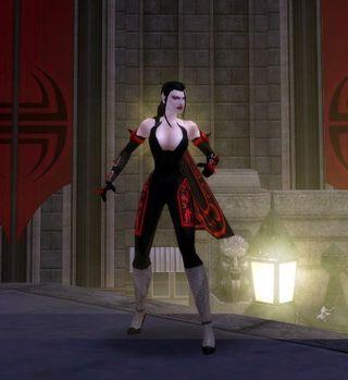 Vampire Vicereine, lvl 31 Electrical Melee - Willpower Brute, Justice Server