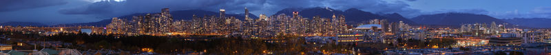 Vancouver_dusk_panoramic_view