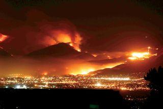San bernardino wildfire