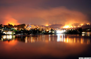 Santiago fire by kevin labianco