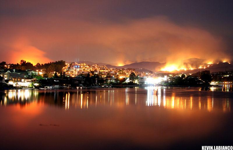 Santiago fire by kevin labianco