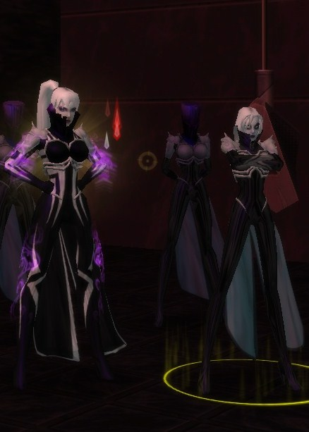 Left to right--Ripley Xaviera, Ghost Widow